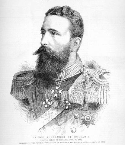 Княз Александър Батенберг (1879-1886)